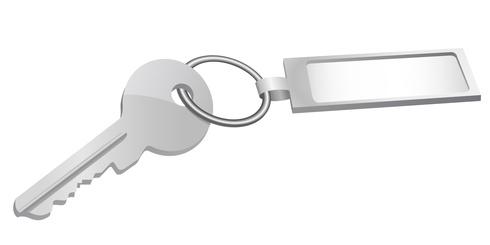 Glücksbringer als Schlüsselanhänger und Halskette